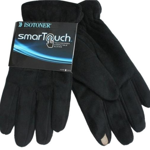 isotoner Other - Isotoner SmartTouch Youth Gloves Tech Stretch XS